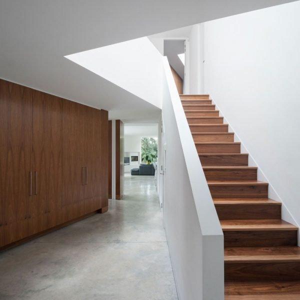 انواع پله های چوبی
