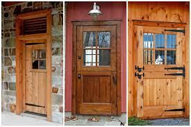 انواع چوب برای درب ورودی