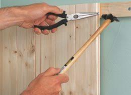زیرسازی جهت نصب دیوارکوب , نصب لمبه چوب کاج