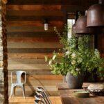 ایده برای دیوارکوب چوبی