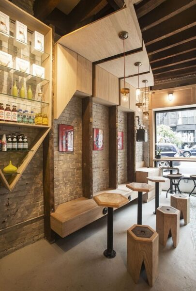 دکوراسیون کافه و رستوران
