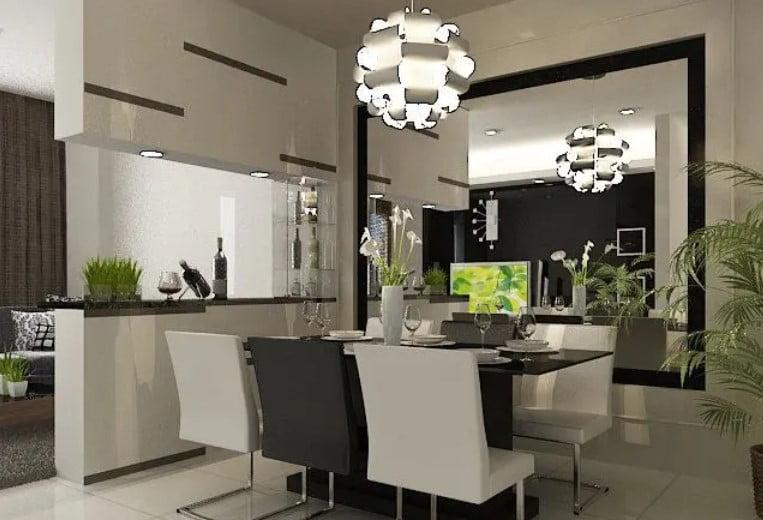 ایده طراحی داخلی سالن غذاخوری