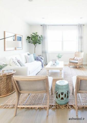 بهترین طرحهای دکوراسیون داخلی منزل و ویلا با چوب