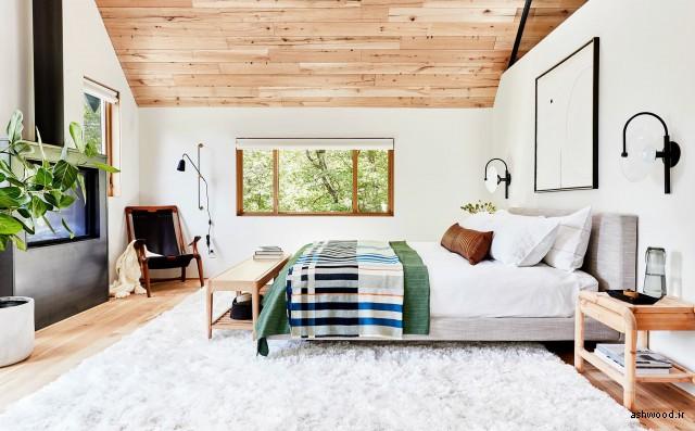 ایده طراحی منزل با استفاده از مبلمان چوبی در دکوراسیون نوین