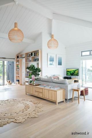 بهترین طرح ایده در دکوراسیون داخلی منزل و ویلا با چوب
