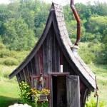 کلبه چوبی ، سونای خشک فنلاندی