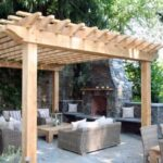50 ایده های زیبا پرگولا چوبی , آلاچیق