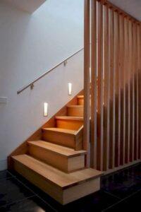 ایده های جالب و زیبا از پله های چوبی