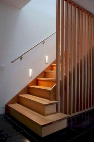 30 ایده خیره کننده از پله های چوبی برای خانه