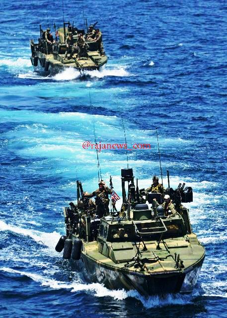 ۱۰ نظامی آمریکایی را که وارد آبهای ایران شدهبودند بازداشت