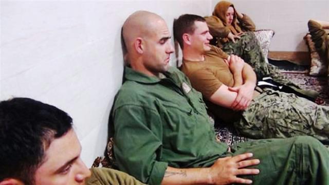 بازداشت تفنگداران امریکایی در خلیج فارس