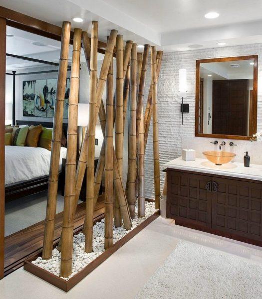 بامبو در حمام