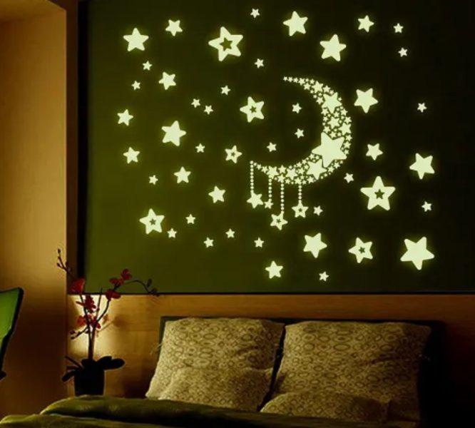 برچسب های فلورسنت ستاره