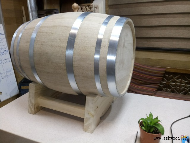 ساخت بشکه چوبی , مدل بشکه چوب بلوط