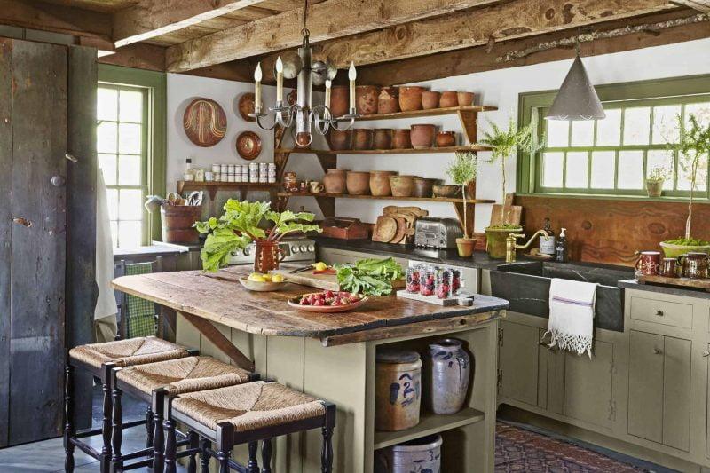 به روزرسانی آشپزخانه با دکور مزرعه