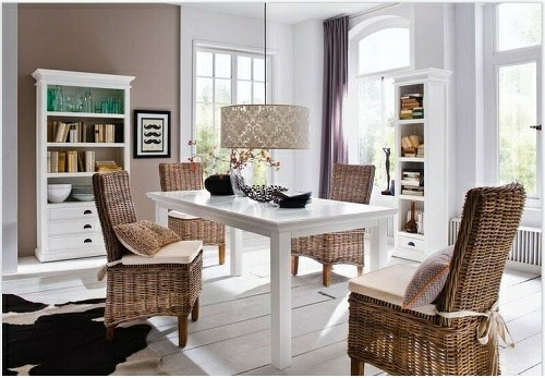 بوفه چوبی جدید , میز کنسول و بوفه ویترین چوبی