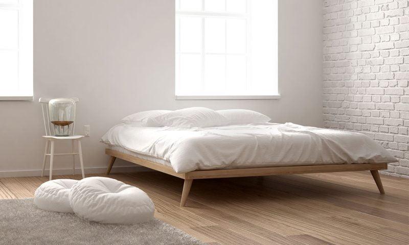 تختخواب با قاب ساده