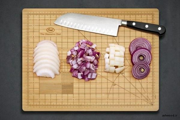 تخته برش آشپزخانه , تخته گوشت , تخته سرو چوبی