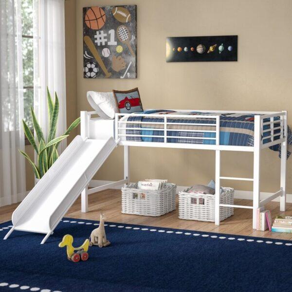 تخت خواب دو طبقه انباری