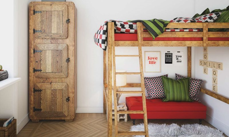 تخت خواب سفارشی futon