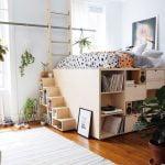 تخت خواب مدرن چوبی