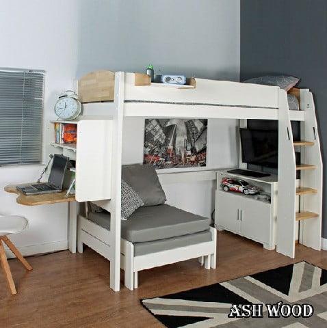 راهنمای کامل تخت های چوبی نوجوان