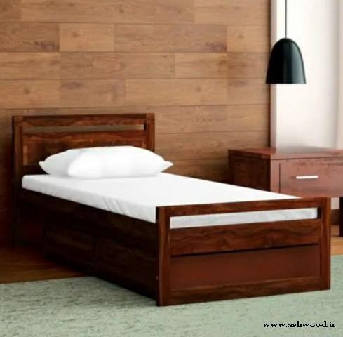 10 مدل از جدیدترین طراحی تخت خواب های چوبی