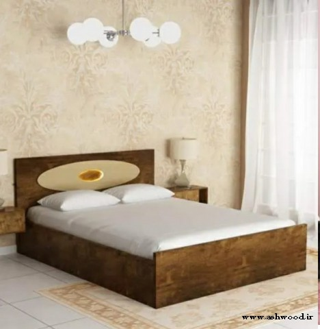 مدل های تخت خواب تمام چوب