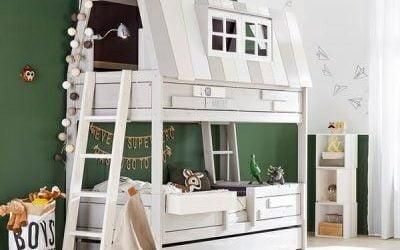 10 تخت خواب شگفت انگیز که برای کودکان ساخته شده است !
