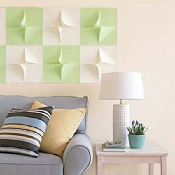 روش های ساده برای تزئین خلاقانه دیوارهای خانه تان