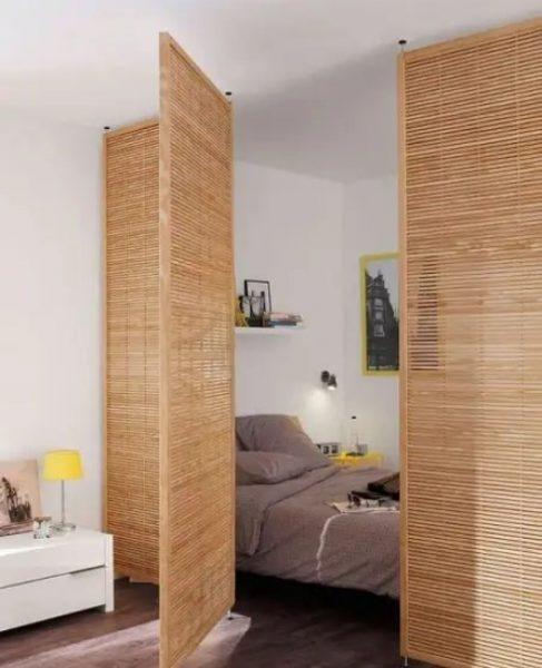 تقسیم کننده اتاق برای آپارتمان های استودیویی