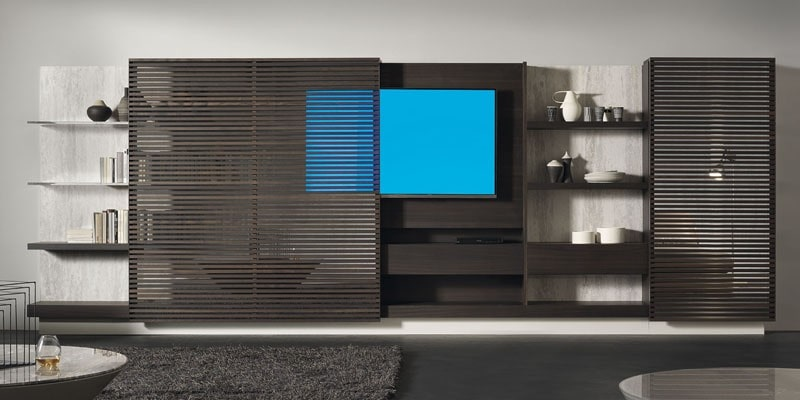 تلویزیون پنهان شده در اتاق نشیمن