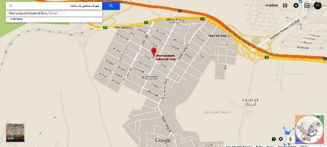 منطقه صنعتی جاجرود خرمدشت سیاه سنگ