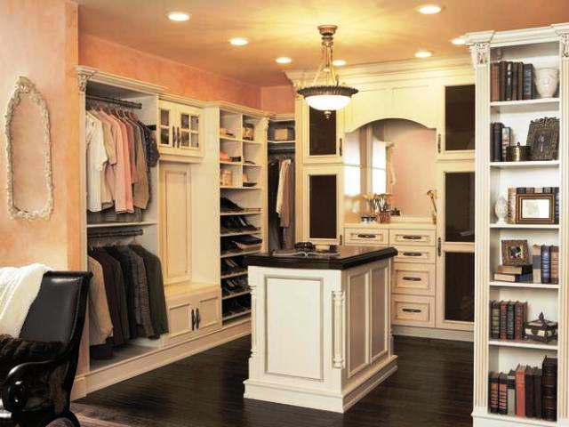 اندازه های استاندارد کمد لباس چوبی