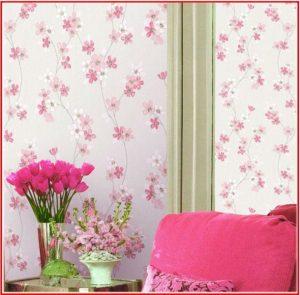 کاغذدیواری گلدار