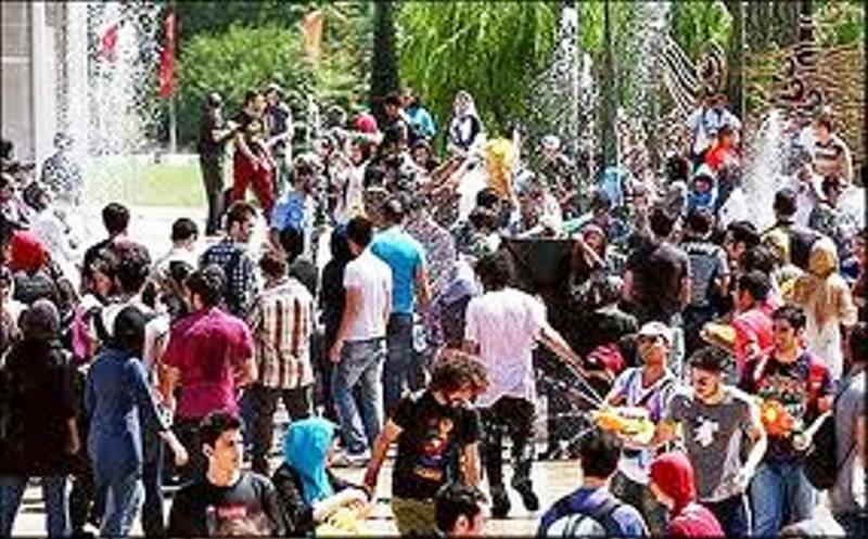 جشن ایرانیان Iranians celebrate جشن آبپاشان celebrate sprinklers