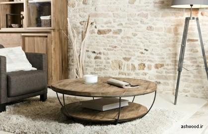 چگونه میز قهوه خود را برای فضای کوچک انتخاب کنیم؟ میز جلو مبلی