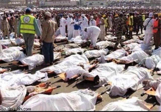 تلفات حادثه اخیر در عربستان
