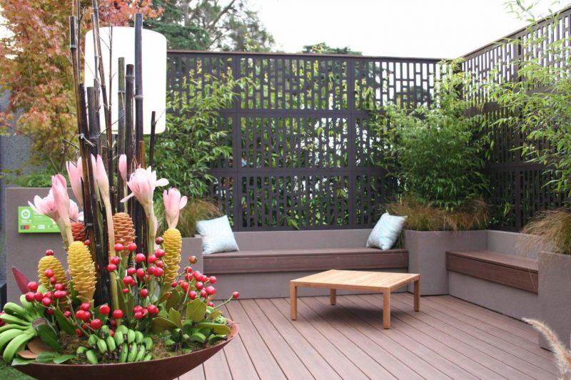 حصار فلزی برای حفظ حریم خصوصی فضای باز