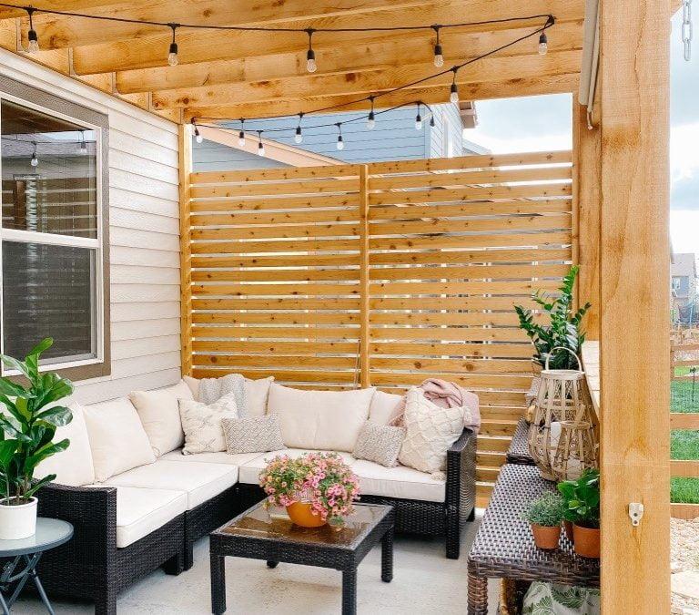 راه حل برای حفظ حریم خصوصی فضای باز برای خانه مدرن