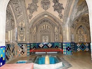 حمام فین کاشان از آثار دوره قاجاریه