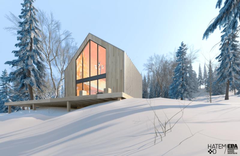 خانه ای به سبک اسکاندیناوی