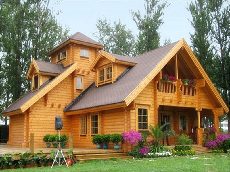 خانه های چوبی ضد زنگ!
