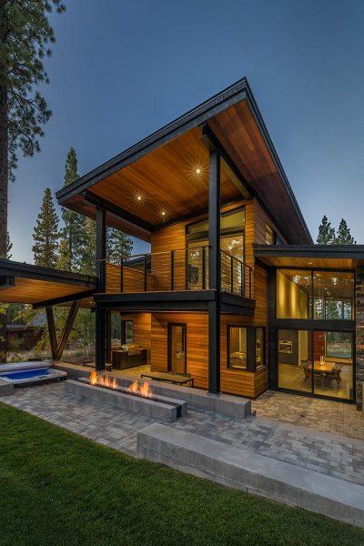 خانه چوبی تاهو