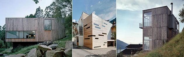 خانه چوبی جعبه ای کوچک