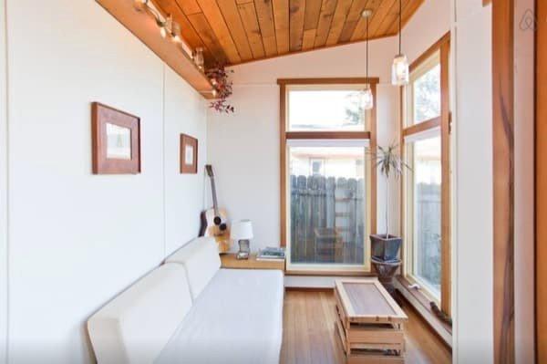 خانه چوبی مدرن و کوچک در پورتلند