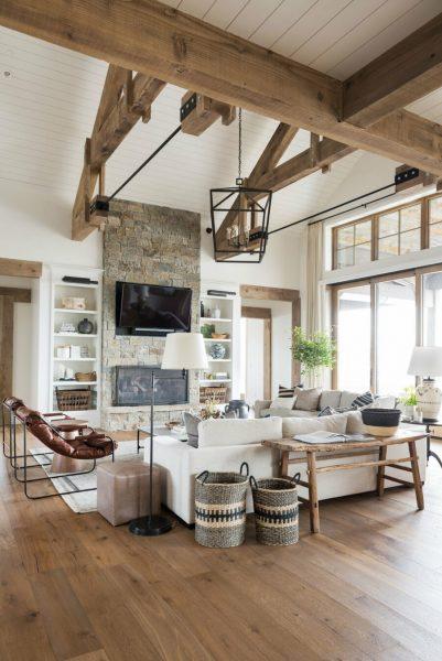 خانه چوبی و روستیک