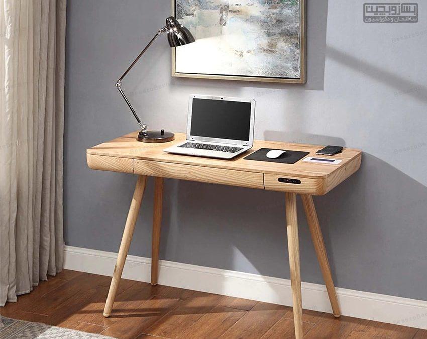 راهنمای خرید میز کامپیوتر(لب تاپ) چوبی استاندارد