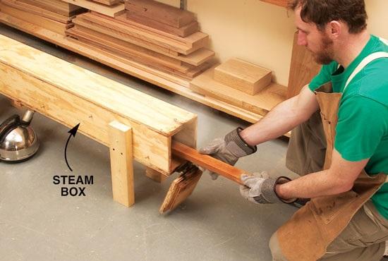 روش های خم کاری چوب