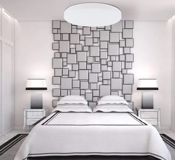 خواب زوج اتاق زیر شیروانی سفید